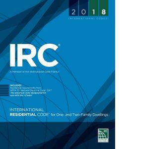 2018 international residential code